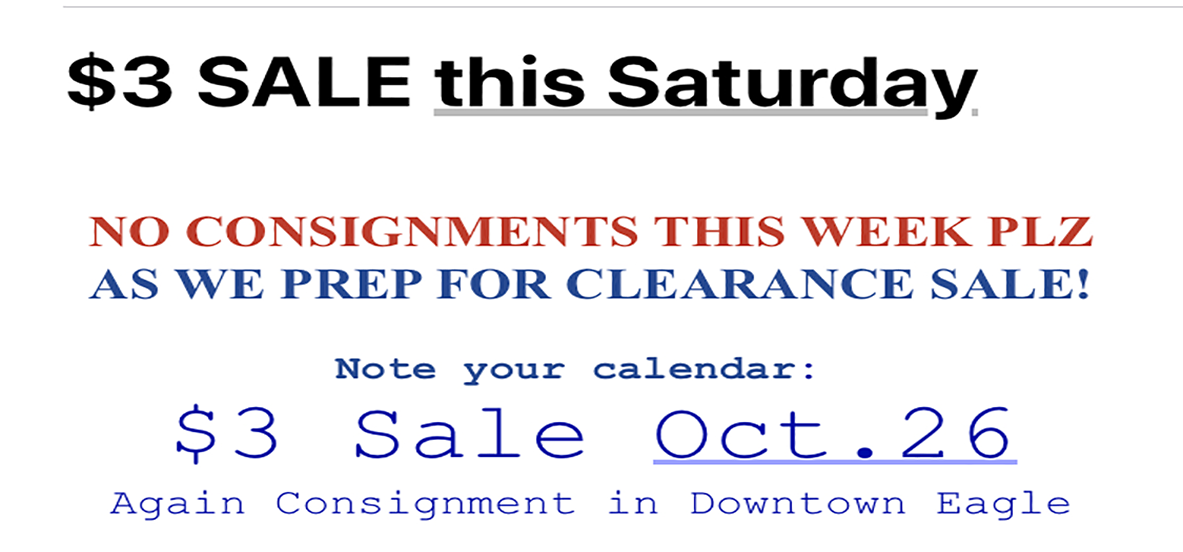 boise womens clothing consignment